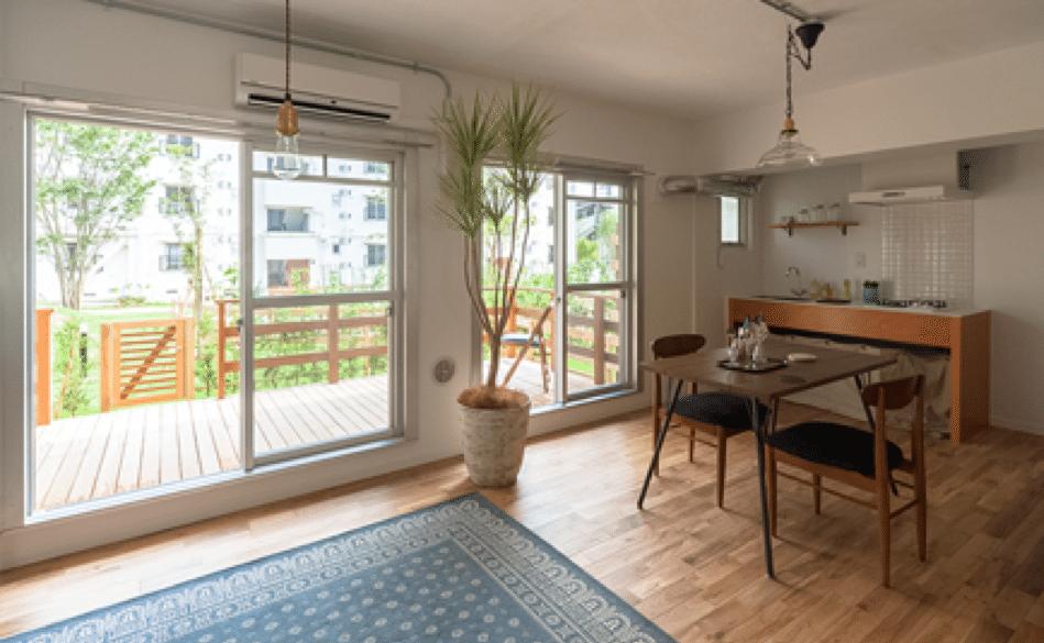 ホシノタニ団地 Garden Planの一室 (提供:小田急電鉄)