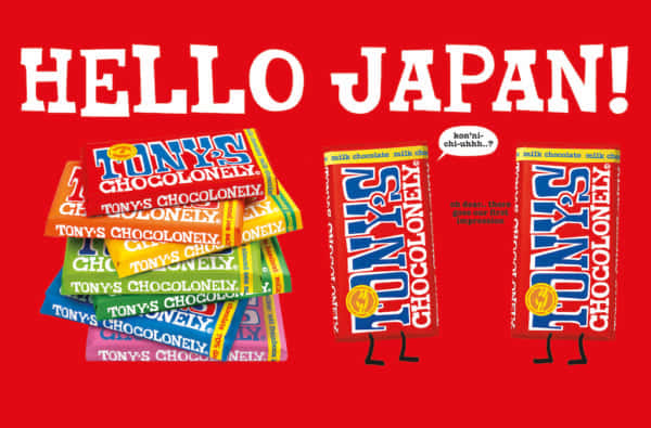 Tony's chocolonely in Japan