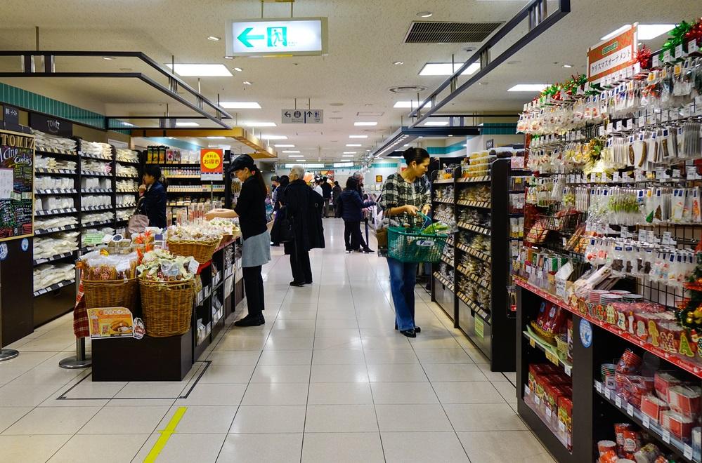 京都のスーパー