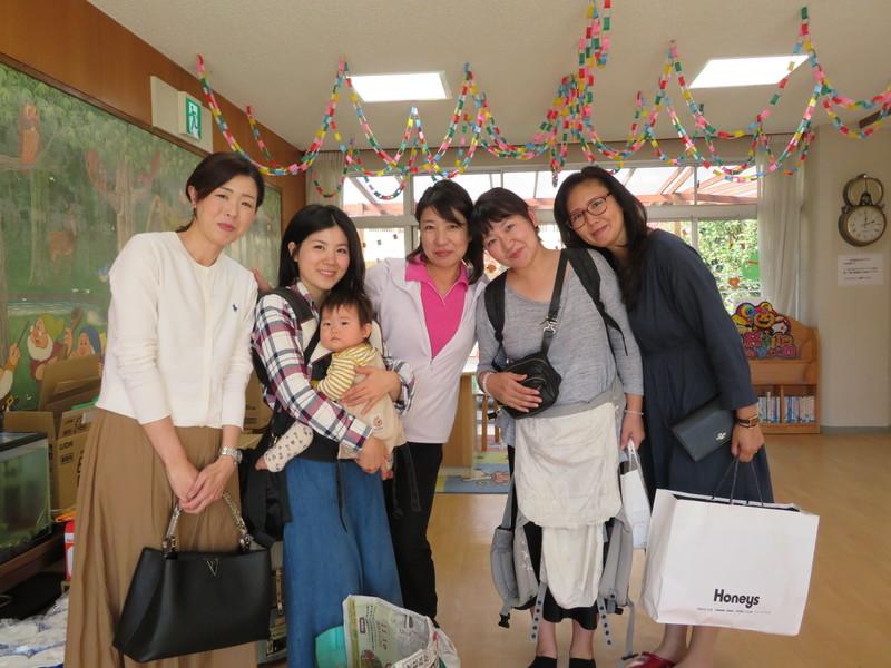 幼稚園留学に参加したお母さんたち