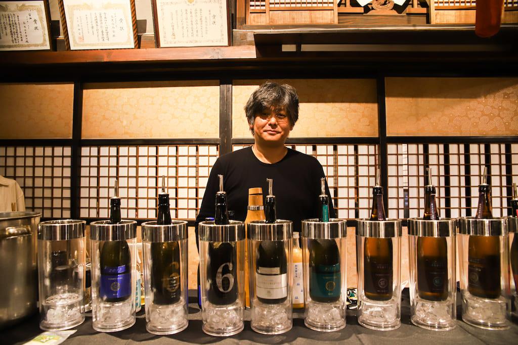 新政酒造の日本酒と料理のペアリング