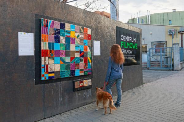 大気汚染を吸収するストリートアート