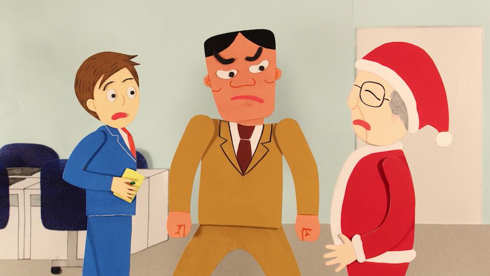 Be-production クリスマスのオフィスにて