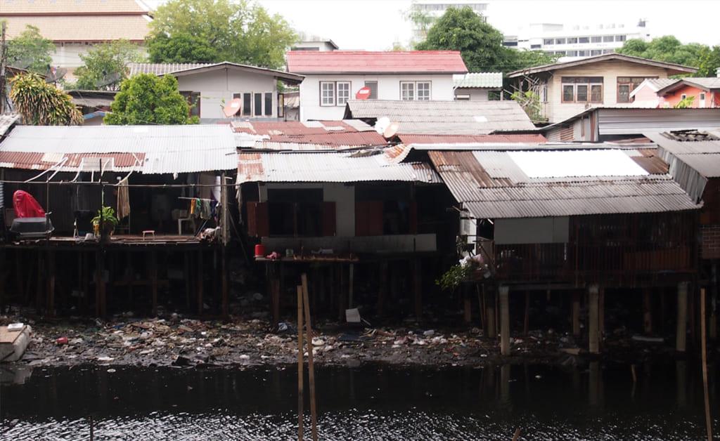 タイのスラム