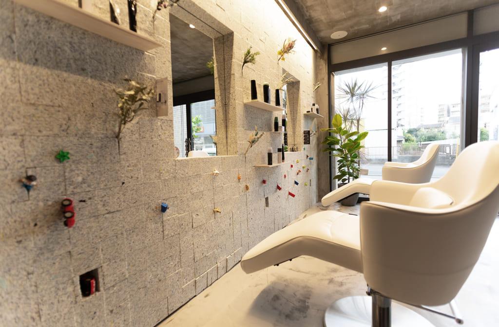 美容室のプロジェクト