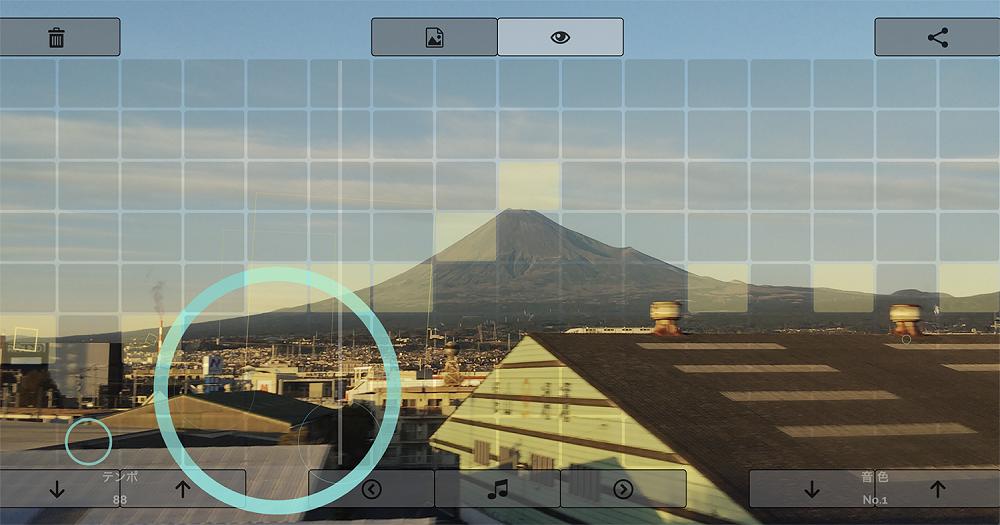 『クリックで奏でるオルゴール 〜富士山でおんがく〜』(2021) 久世祥三