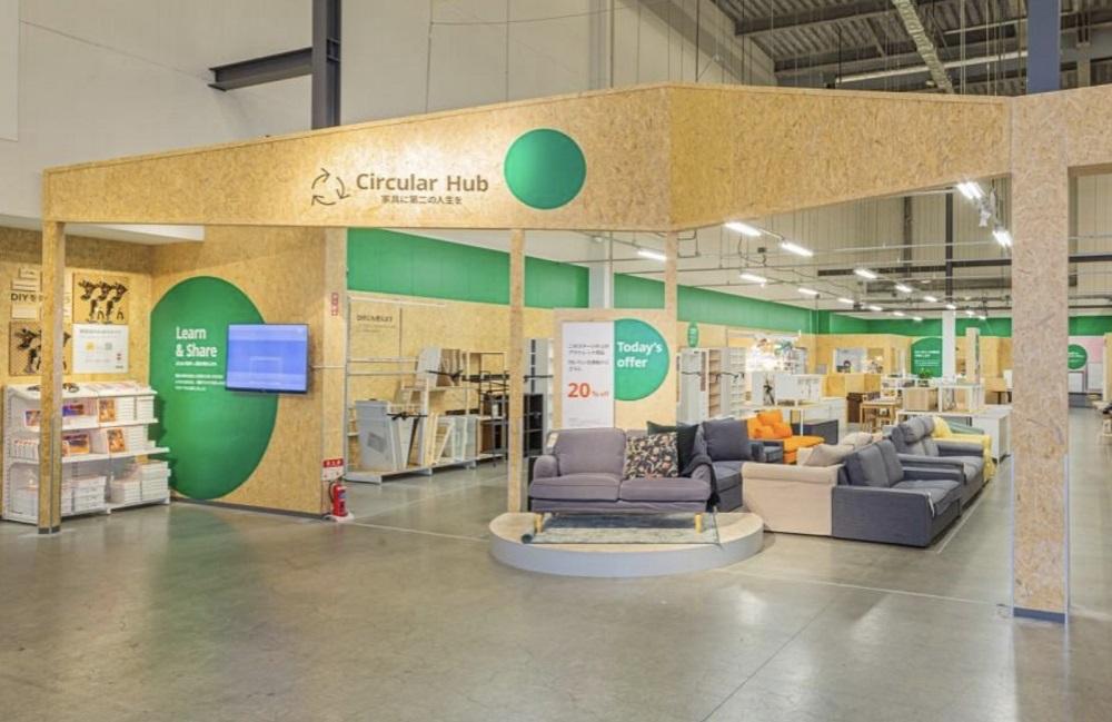 イケアが店舗の一区画にオープンした、家具に第二の人生を与える「Circular Hub」