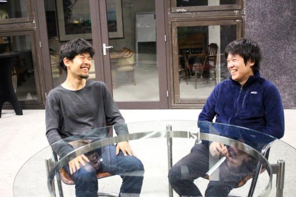 安居さんと加藤さん