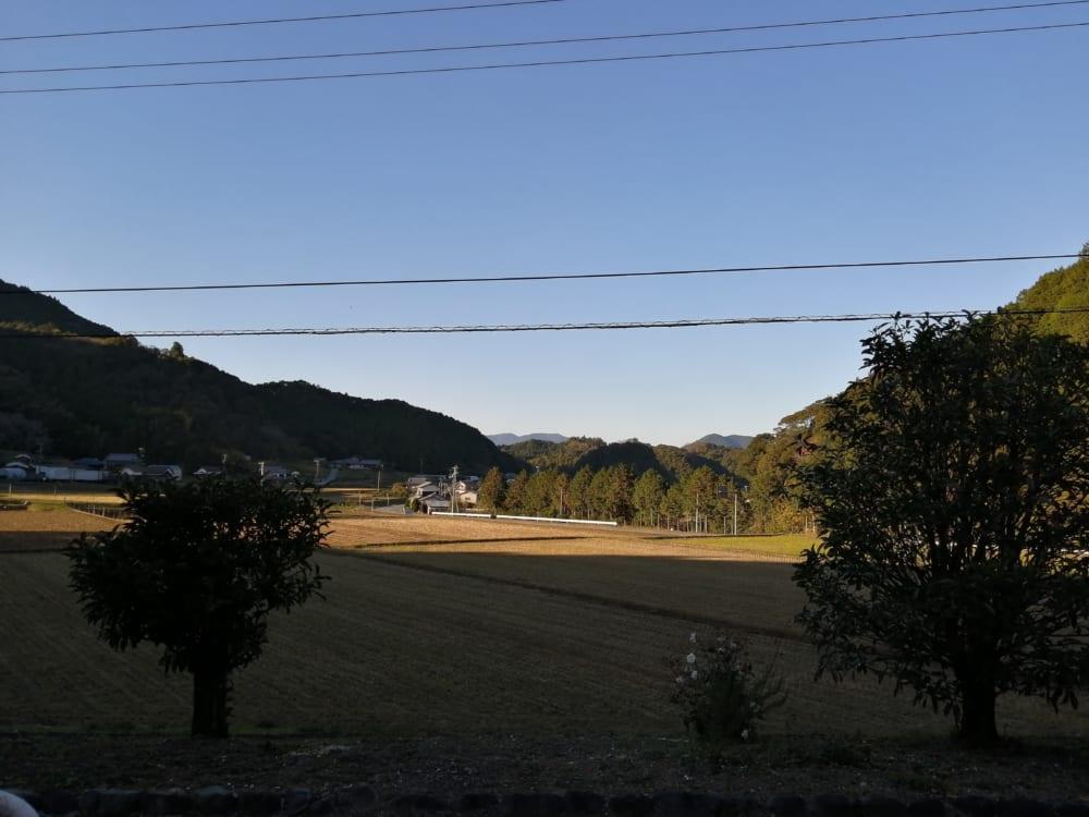 森の息吹の周辺、松野町の風景