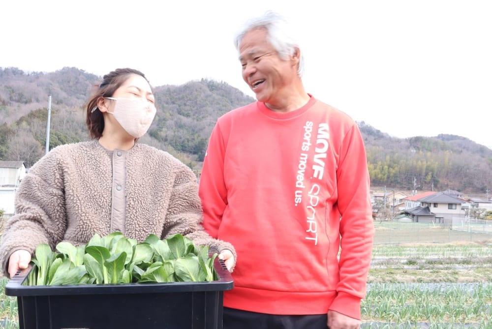 吉井さんと農家さん