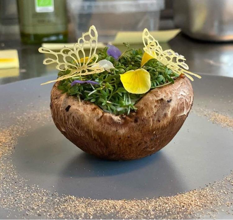 野菜を使ったコース料理