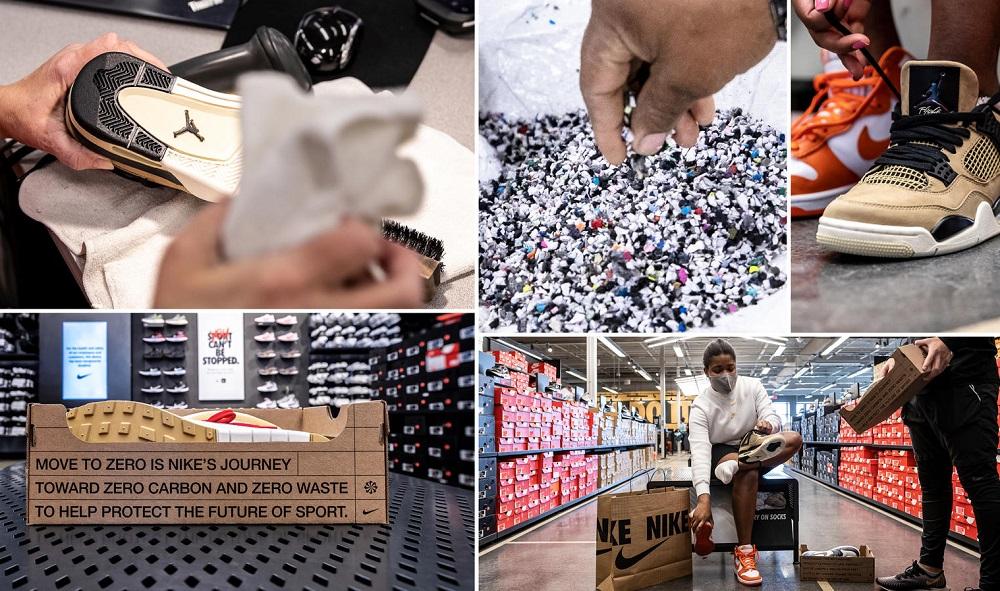 ナイキ、返品された靴に与える第二の人生「Nike Refurbished」