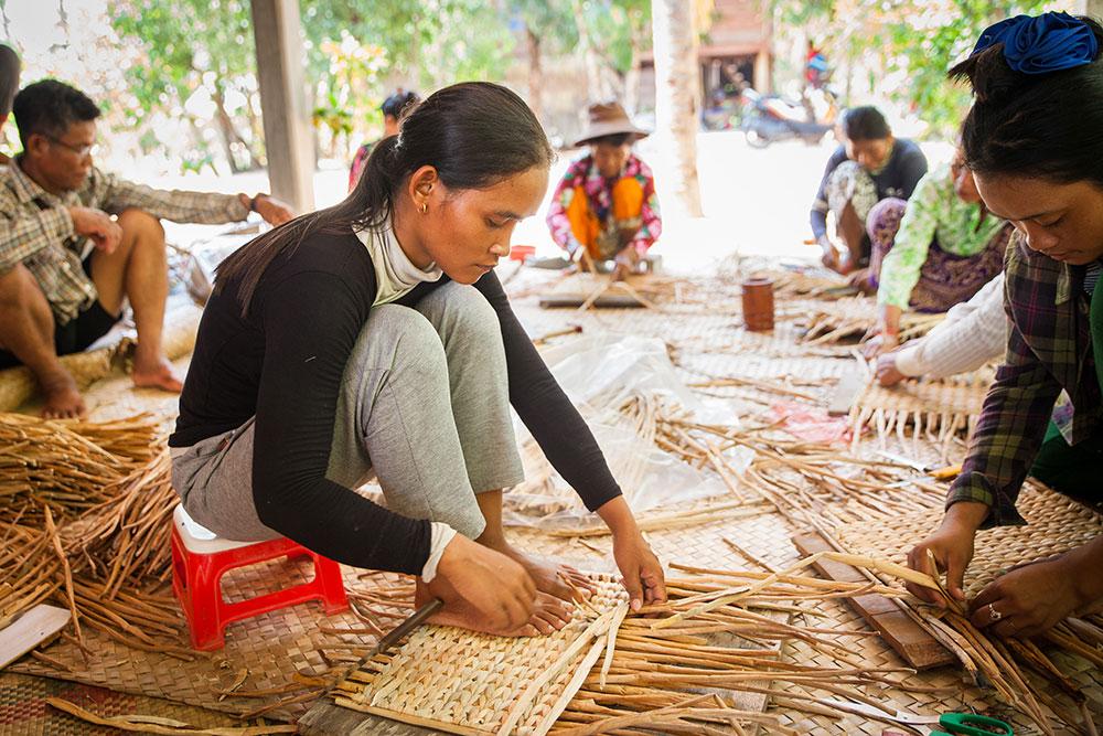 起業家を応援するカンボジアのハンドメイドショップ「N's BASE」