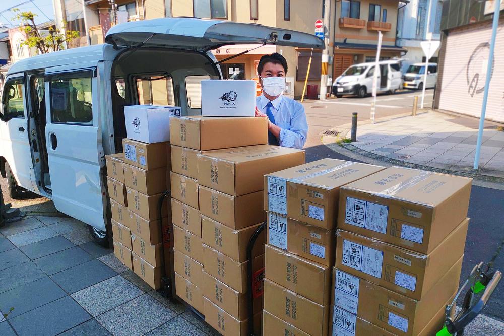 チョコを食べて、医療従事者に感謝を届ける。京都のカカオブランド「Dari K」