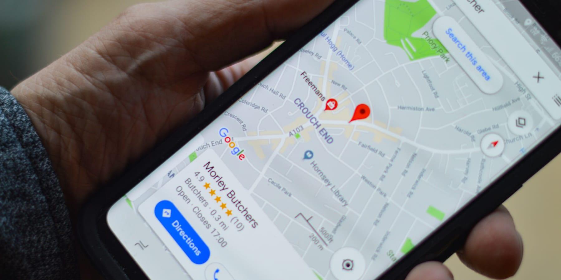 Googleマップが導入した、サステナブルスポットを探しやすくするナビ機能