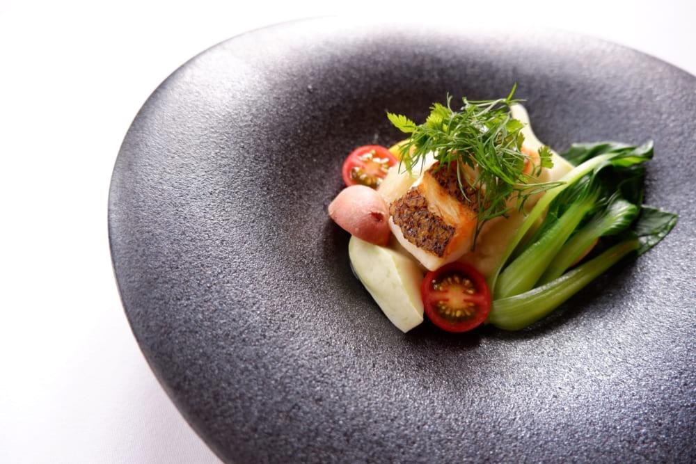 『7種の広島野菜と瀬戸内鯛のポワレ』