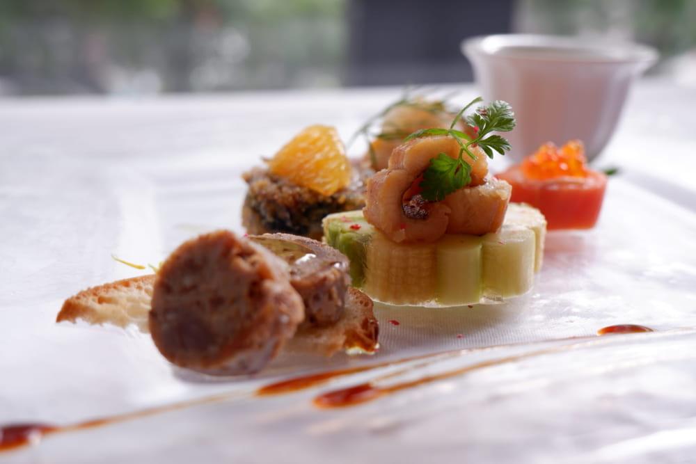 『広島の恵 本日の前菜盛合せ』