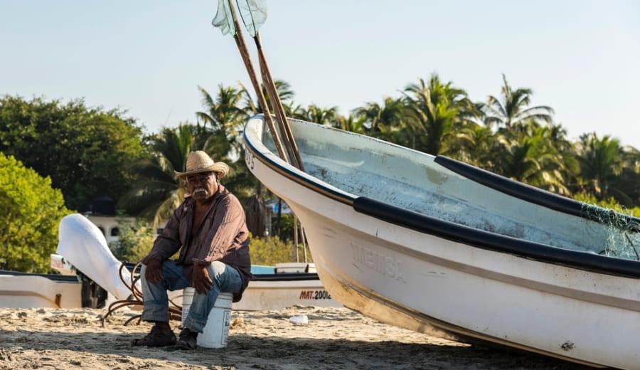 メキシコの漁師