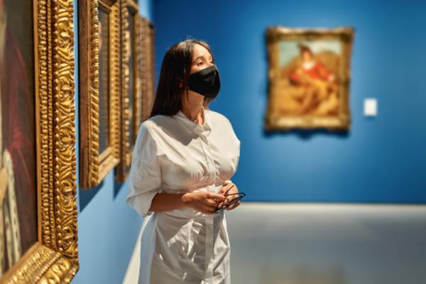 コロナ禍での美術館訪問