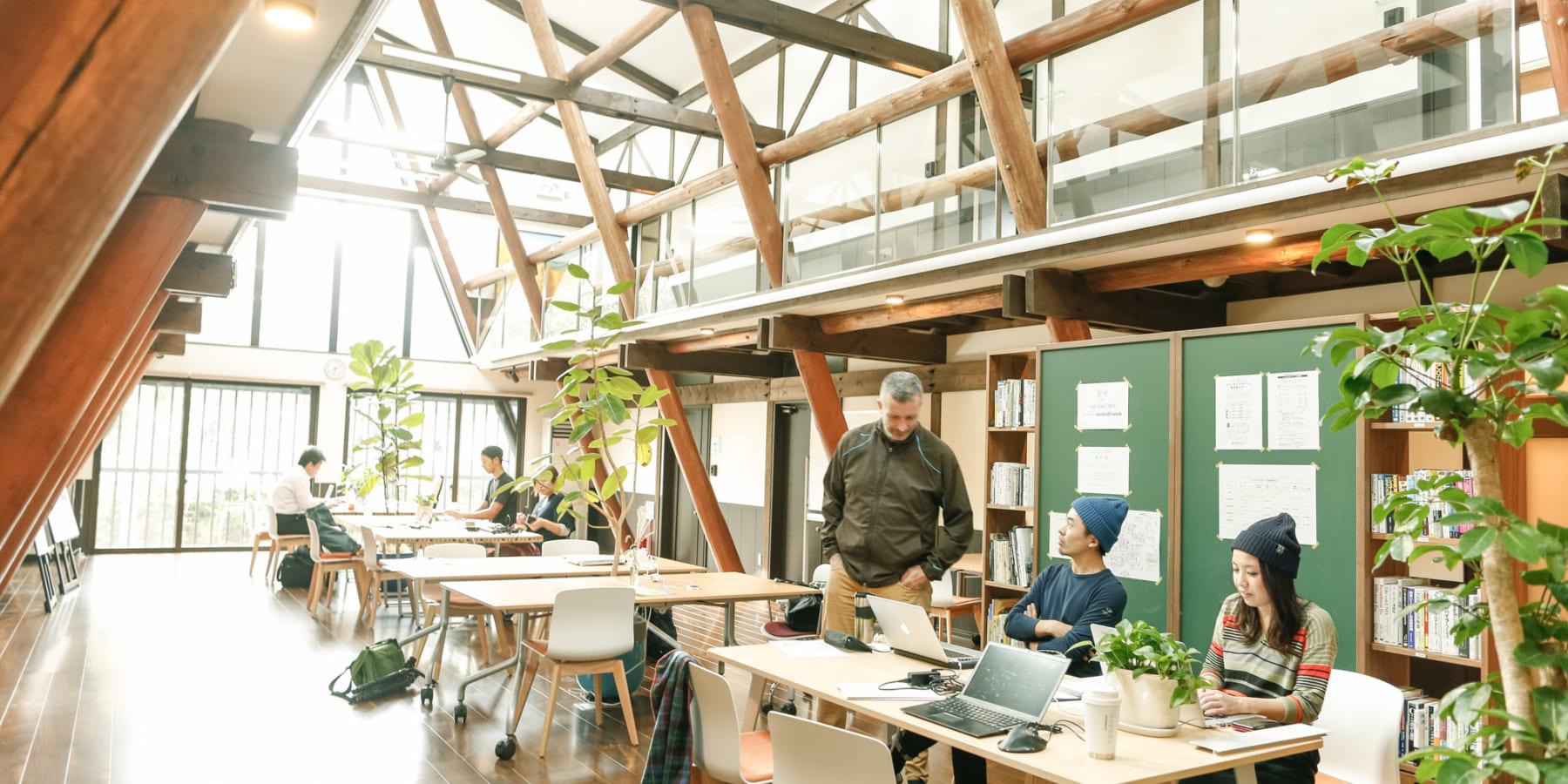 変革の力をつける関係性を築く「富士見森のオフィス」